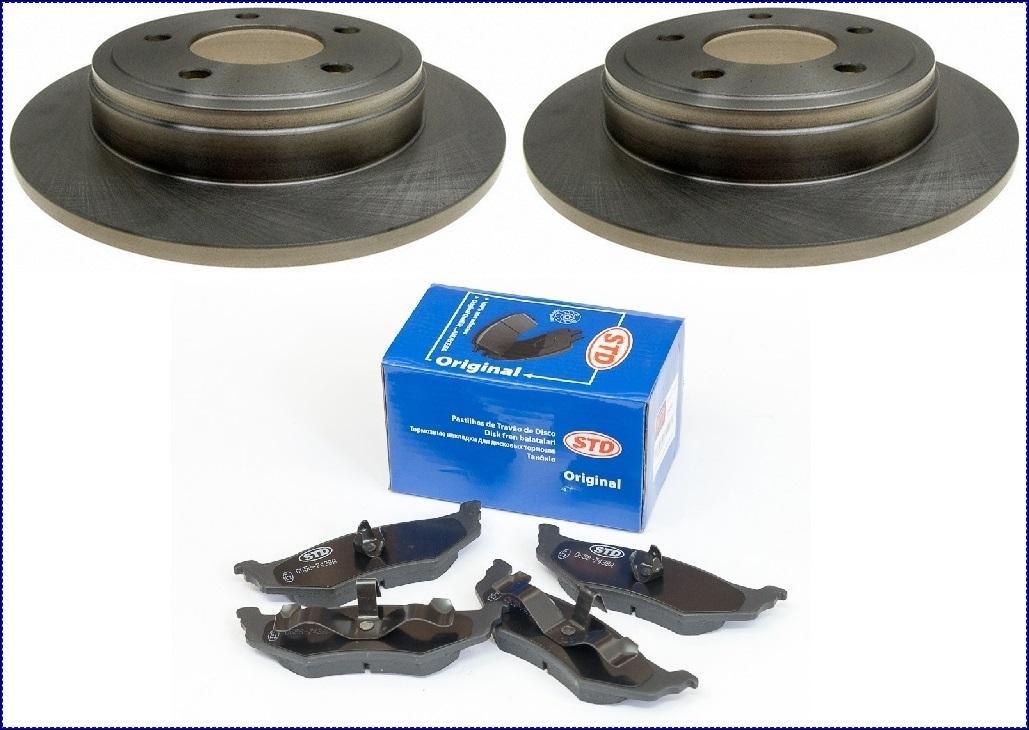 PEUGEOT 406 1998-2004 Disques de freins plaquettes de frein avant arrière