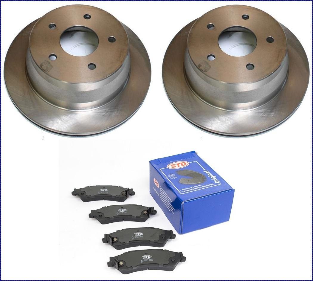 D/'origine Toyota Estima 2000-2001 plaquettes de frein arrière